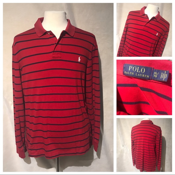 Ralph Lauren Polo Casual Bag Red